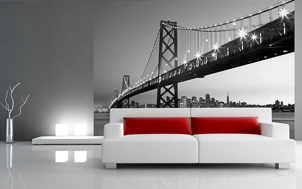 San Francisco Skyline non-woven Wall Mural