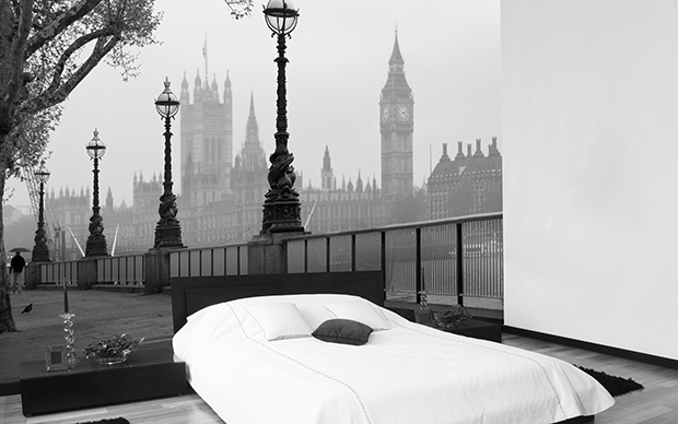 London Fog 8-part Wall Mural