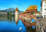 00157 Lucerne – Switzerland 8-part Wall Mural | Fototapete