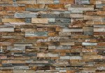 00159 Colorful Stone Wall 8-part Wall Mural | Fototapete