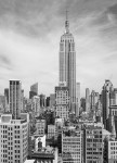 00310 The Empire State Wall Mural 4-part