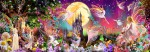 00311 Fairyland Wall Mural 4-part | Fototapete