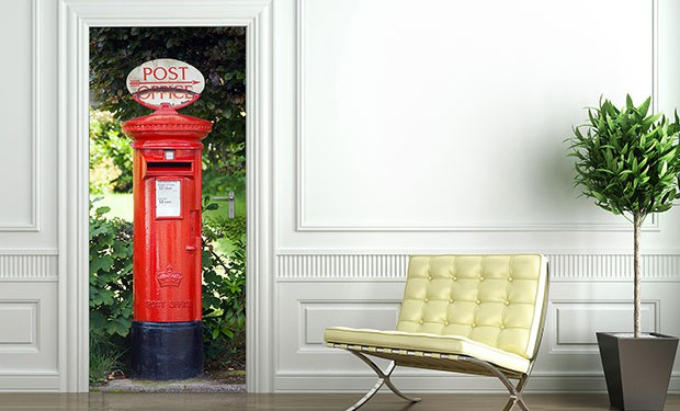 Postbox Door Decor