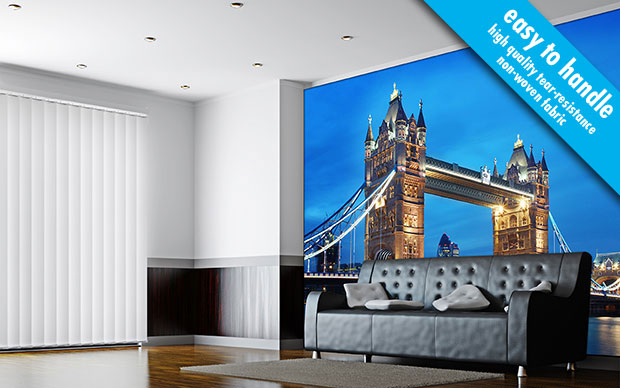 London Tower Bridge non-woven Wall Mural