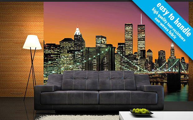 New York City non-woven Wall Mural