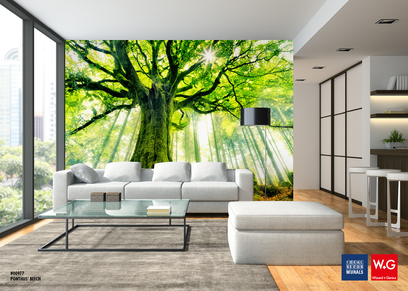Tree Photomural, Wallcovering