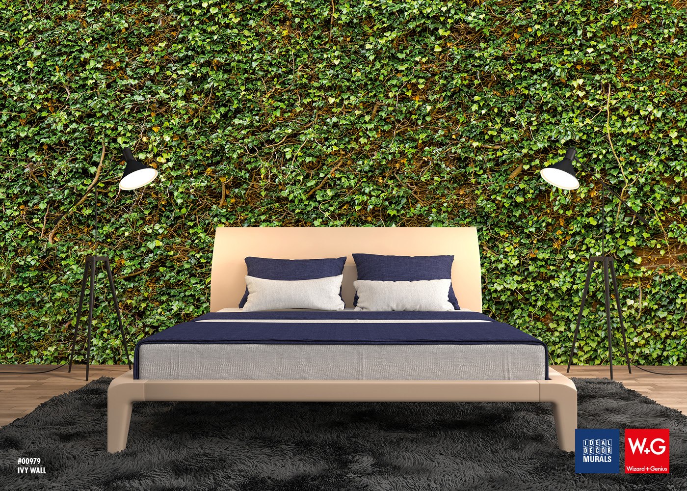 BEAUTIFY YOU ROOM with Ivy Wall Photomural