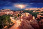 1033-8-1 Lightning over Bryce Canyon