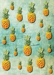 5022-2V-1 TROPICAL PINEAPPLES