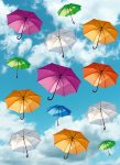 5025-2V-1 ART UMBRELLAS