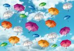 5025-4P-1 ART UMBRELLAS