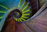 5152-4P-1 Spiral Staircase