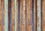 5192-4P-1 Vintage Wooden Wall