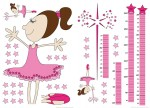 74100 Measuring Tape: Fairy Wall Sticker