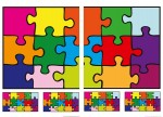 74106 Puzzle Wall Sticker