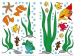 74302 Underwater World Wall Sticker
