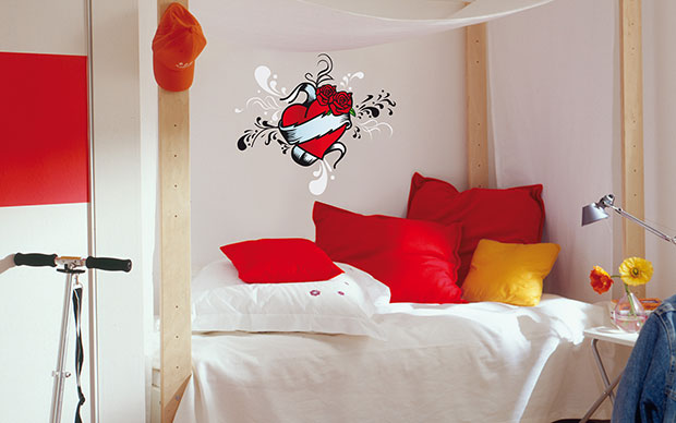 Tatoo Heart Wall Sticker