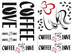 74304 Coffee Love Wall Sticker