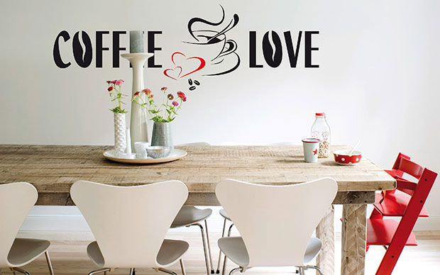 Coffee Love Wall Sticker