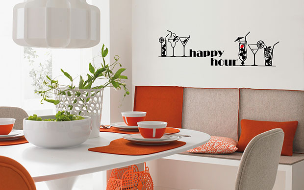 Happy Hour Wall Sticker