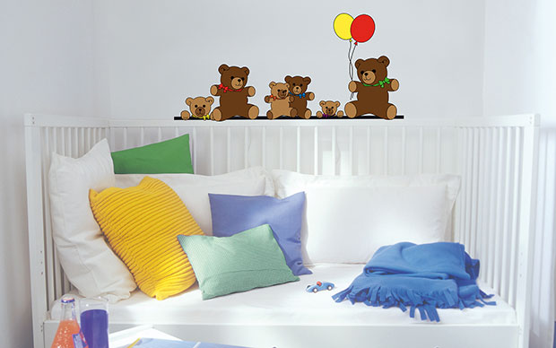 Teddy Bears Wall Sticker