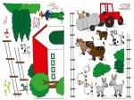 74310 The Farm Wall Sticker