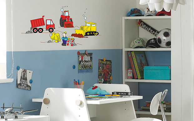Under Construction Wall Sticker