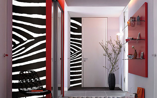 Zebra Wall Stripe